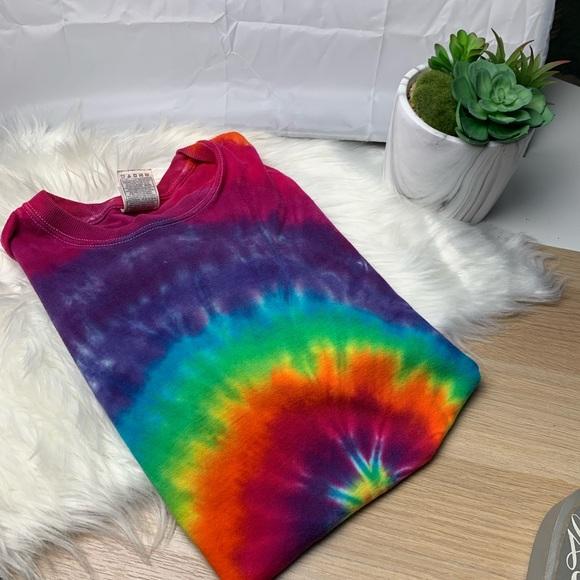 Tops - Tie dye t shirt vintage/boho